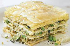 Pistachio & almond baklava #recipe #dessert #turkish  #Turkish Dessert