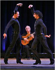 Paco pena gösterisinden Ángel Muñoz ve Ramon Martinez