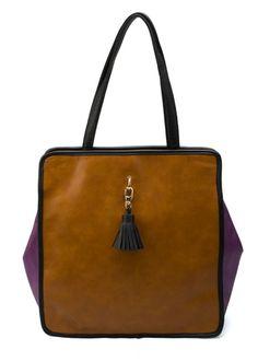 Purple Vintage Purl Shoulder Bag