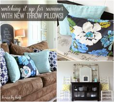 Where to buy gorgeous and inexpensive throw pillows!