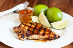 Grilled Honey Lime Chicken by cookingclassy #Chicken #Honey #Liime #cookingclassy