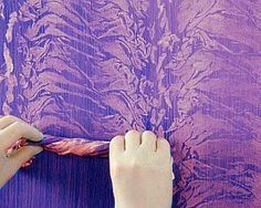 Home where the heart is on pinterest comforter sets for Rag rolling painting ideas