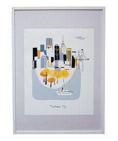 Manhattan City Print