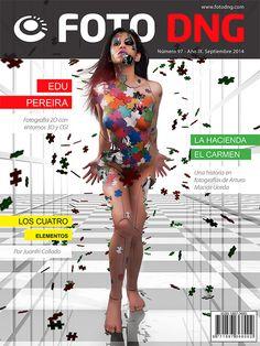 Portada Revista Foto DNG Septiembre 2014, Nº 97