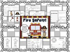 We all know how important it is to teach children how to be safe in case of a fire. This fire safety unit can be used to supplement your teaching during fire safety week.