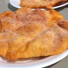 """Elephant Ears. Wow these are awesome! Carnival & fairs in Ohio. (Sheesh! Tired of cleaning out my """"Likes"""" list! Never again will I just mark things as """"liked"""" to go through pins quickly! I think there are 200 things on that crazy list!)"""