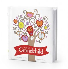 For new grandparents  Is an album of memories for grandparents to fill in and share the story of their life with their grandchildren This precious gift can be purchased from www.ellabean.co.uk  £23.99 each also available one for parents