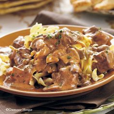 Gooseberry Patch Recipes: Slow-Cooker Beef Stroganoff from Our Best Comfort Food