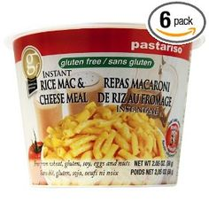 Pastariso Instant Rice Mac and Cheese Meal Cup, 2.05-Ounce (Pack of 6)
