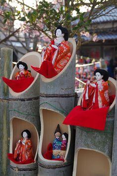 #Japan hinamatsuri