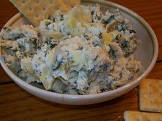 crock-pot spinach & artichoke dip