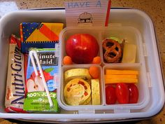 100 lunchbox ideas