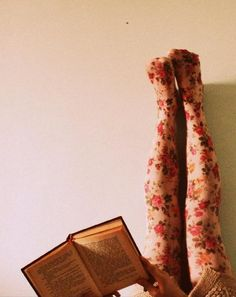 floral tights.