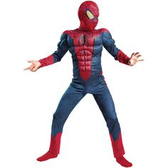 Spider-Man Child Halloween Costume at #Walmart. Available In-Store.