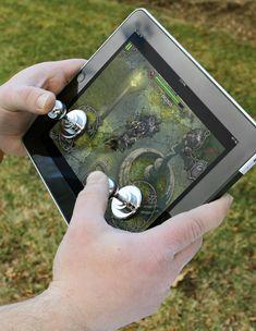 Removable Joysticks for Your Tablet