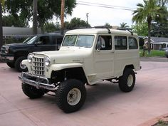 1956 Jeep Willys Station Wagon