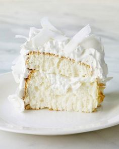 Yum! Coconut Cloud Cake | Martha Stewart