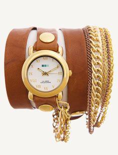La Mer wrap watches