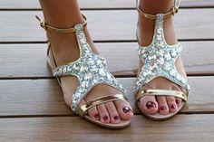 Miu Miu sandals. miu miu sandals, fashion, miu miu flats, starfish sandal, glorious shoe, shoe glorious, nice shoe, miu starfish, starfish flat