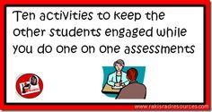 How to Keep Kids Engaged in Learning When You are Assessing