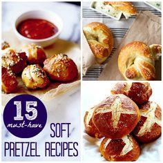 15 Must-Have Soft Pretzel Recipes