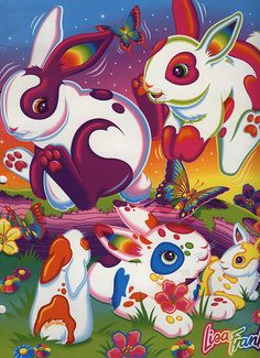 23 Reasons Why Lisa Frank was a Genius... #1 Everything looked like an adorable acid trip.