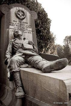Great War grave, 1914, Laeken, Belgium.
