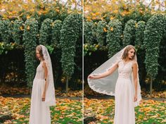 Beautiful Veils and Headpieces from Wanlu Bridal