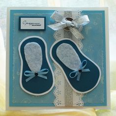 handmade cards | Handmade new baby card - Handmade Cards 2012 -2013 | Handmade Cards ...