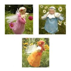 Waldorf Flower Fairy Dolls