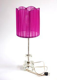 upcycled lamp shade.