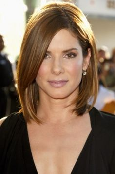 Sandra Bullock Cute Layered Hairstyles Design 275x415 Pixel