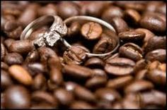 ring, engagement pictures, someday, plan, coffee beans, weddings, arlena engag, brew coffe, engag pictur