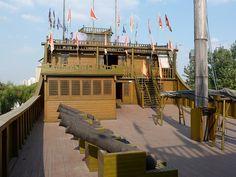 Zheng He Treasure Ship Park, Nanjing.