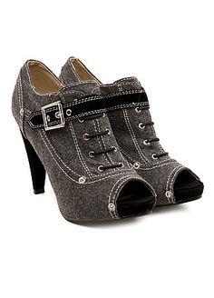 KMJ shoes - Coco Heels-Grey