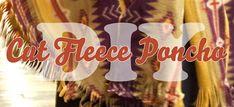 Fleece ponchos!