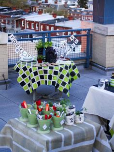 How to Host a Stock-the-Garage Wedding Shower >> http://www.diynetwork.com/decorating/how-to-host-a-stock-the-garage-wedding-shower/pictures/index.html?soc=pinterest