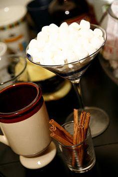 Cocoa Bar Ideas