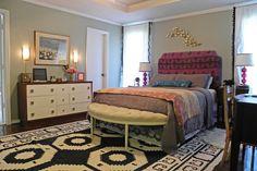bedroom paint color - nimbus cloud, Martha Stewart.