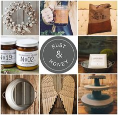 Rust & Honey A Farmh
