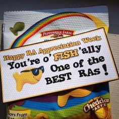 RA Appreciation Fish