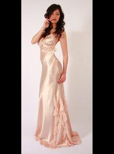 Liliana Casanova - pink satin
