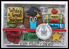 cookies for teacher appreciation week?