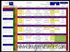 Weekly lesson plans - Computer-based; 9 different pre-made color schemes. Use your own fonts & colors to personalize. Save an entire year's worth of plans in one place. PC or Mac