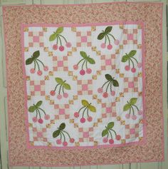 "Lakehouse ""Cherry Baby"" quilt pattern"