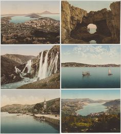 To celebrate Croatia's EU membership we're sharing this stunning collection of late 19th century postcards depicting the natural beauty and magnificent scenery of the country. Images: CC0, Zentralbibliothek Zürich.