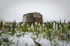 James Ensor in de sneeuw. #oostende