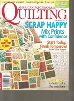 American Patchwork & Quilting Magazine (Scrap « Library User Group