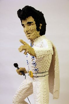 lego sculptur, inspir lego, brick, lego land