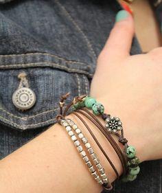 easy knot bracelet - cool new blog too